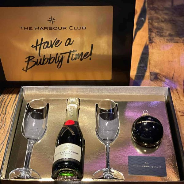 The Harbour Club Shop Champagne Box