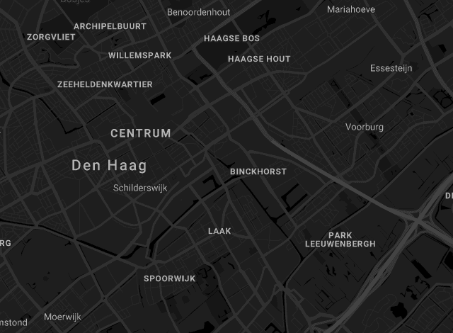 Map The Harbour Club Den Haag