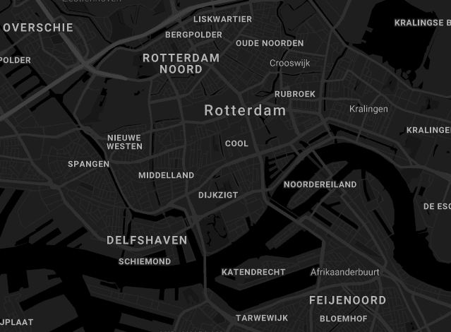 Map The Harbour Club Rotterdam